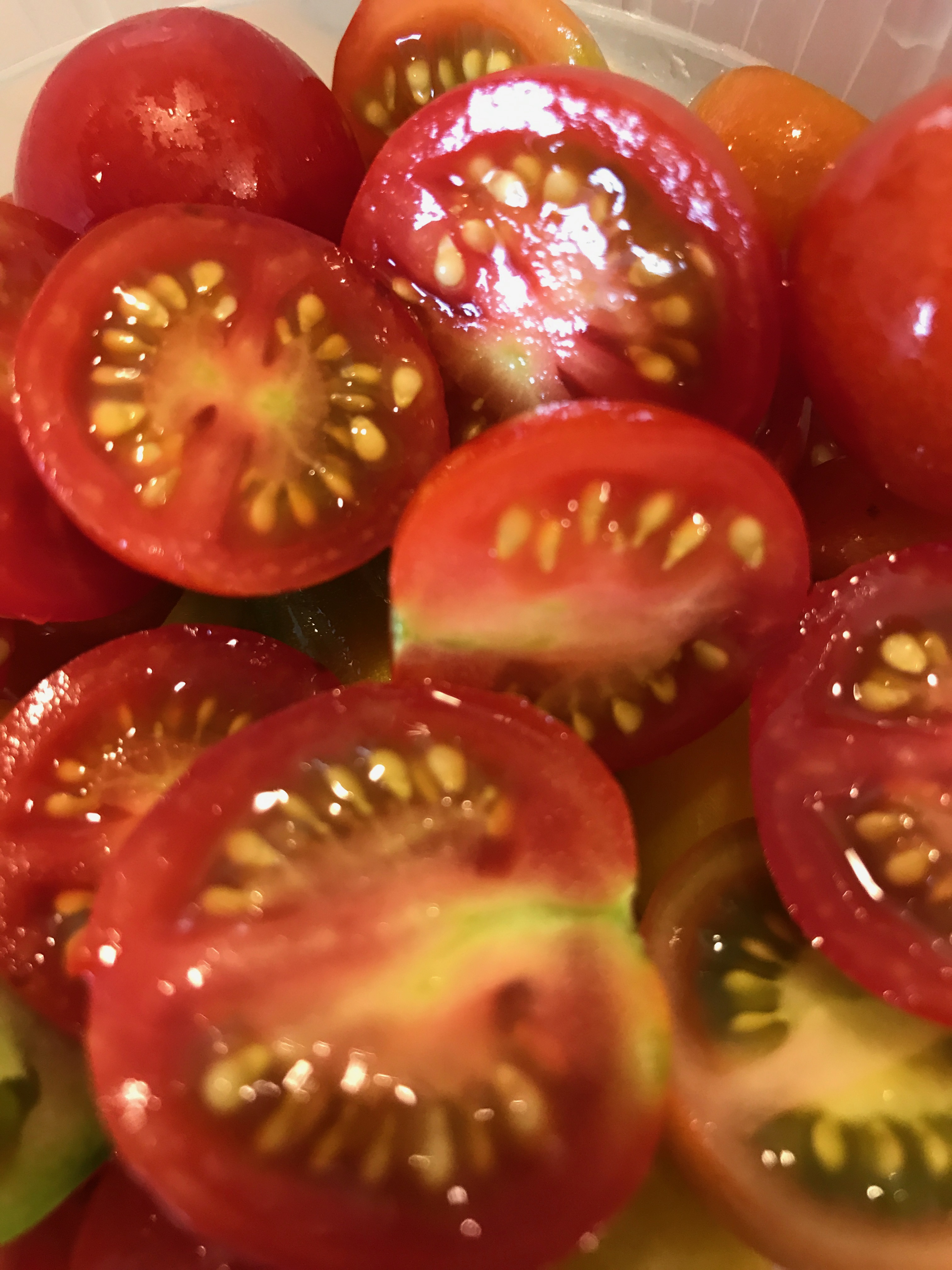 Fresh Cherry Heirloom Tomatoes