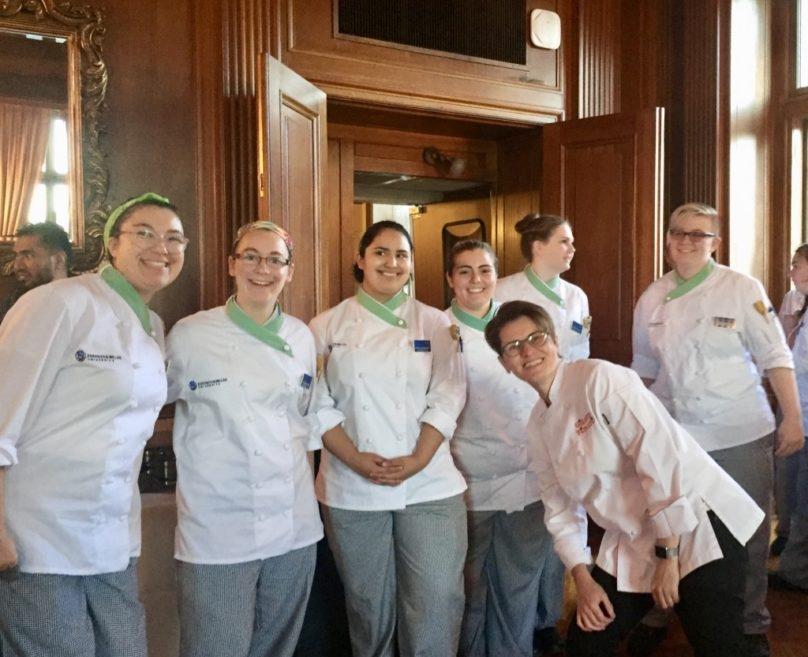 Volunteering at the Signature Chef Event